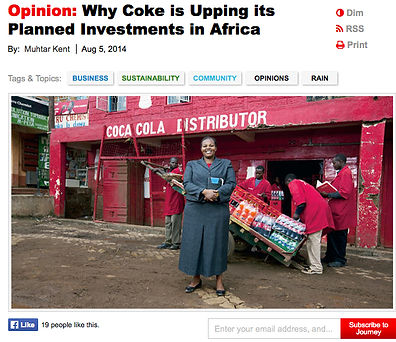 Coca-cola digital campaign journey opinion page
