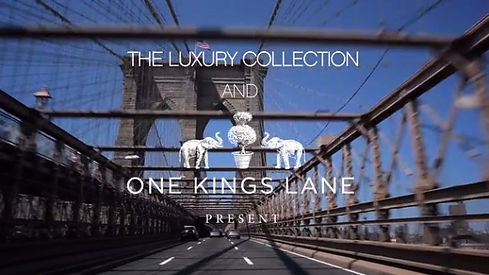 Luxury collection present East Coast Road Trip