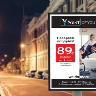 Point of You presentation Αφίσα Στάσεων.
