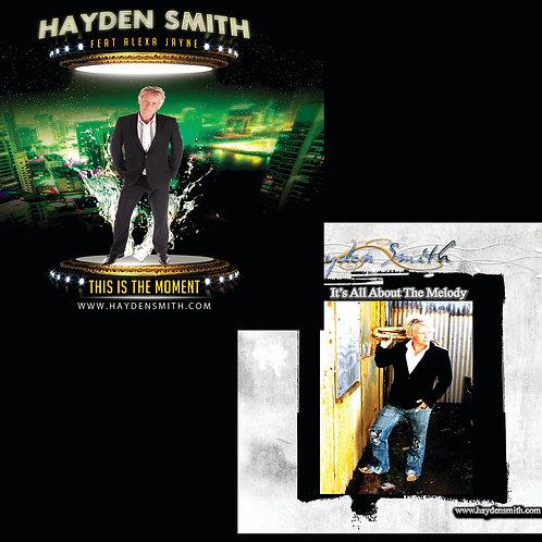 Hayden Smith Vocal & Instrumental CD Digital Download PACK