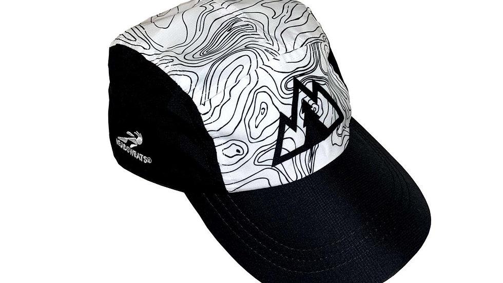 Running Hat - White/Black