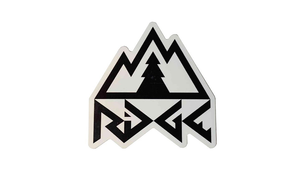Ridge Logo Sticker
