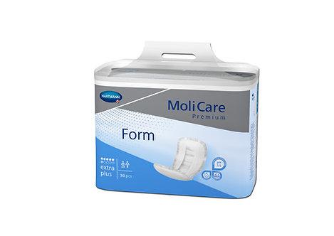 Protections Anatomiques MoliCare® Premium Form EXTRA PLUS (6 G) Bleu