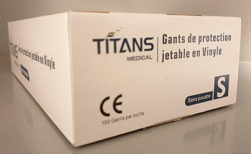 Gants En Vinyle Taille S