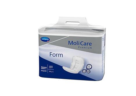 Protections Anatomiques MoliCare® Premium Form MAXI (9 G) Bleu Foncé