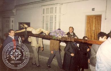 Santísimo Cristo de la Vera-Cruz San Fernando Cádiz