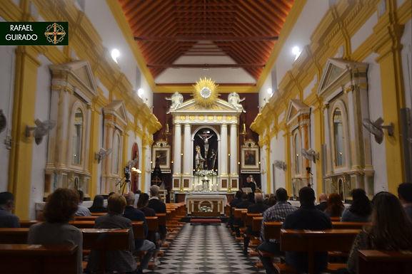 Nuestra Señora del Mayor Dolor presidió el rezo del Santo Rosario un nuevo mes de octubre