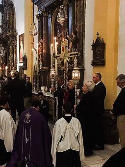 Santo Lignum Crucis Hermandad de la Vera-Cruz San Fernando Cádiz