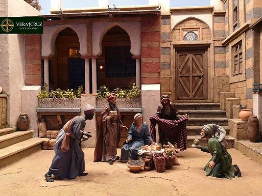 Ya se anuncia la Navidad en el barrio del Cristo Viejo