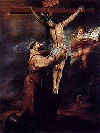 San Francisco abrazado a Cristo (Santísimo Cristo de la Vera-Cruz, San Fernando)