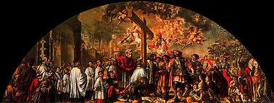 Exaltación de la Santa Cruz, Valdés Leal