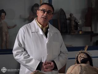 Pedro Manzano restaurará la imagen de Nuestra Señora del Mayor Dolor