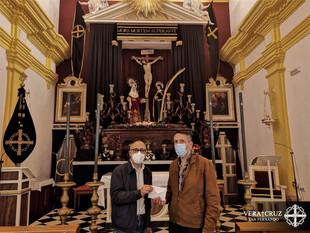 La Hermandad hizo entrega a Cáritas Parroquial de los donativos de Cuaresma y Semana Santa