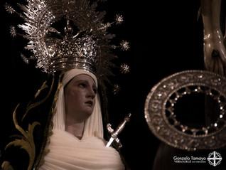 Mayo, mes de María: cultos en honor a la Señora del Mayor Dolor