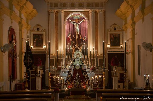 Cultos en honor a la Santa Cruz y a Nuestra Señora del Mayor Dolor