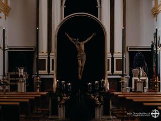 16 febrero 2019: regreso de la efigie del Santísimo Cristo tras su proceso de restauración