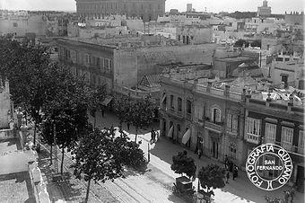 Calle Real San Fernando 1925