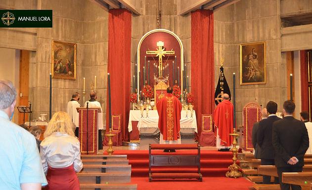 La Hermandad celebró la festividad de la Exaltación de la Santa Cruz con una Solemne Función
