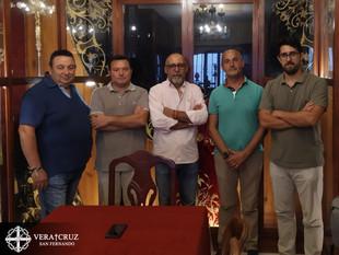 Primera toma de contacto entre la Hermandad y la asociación JCC