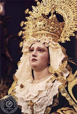 Nuestra Señora del Mayor Dolor Hermandad de la Vera-Cruz San Fernando Cádiz