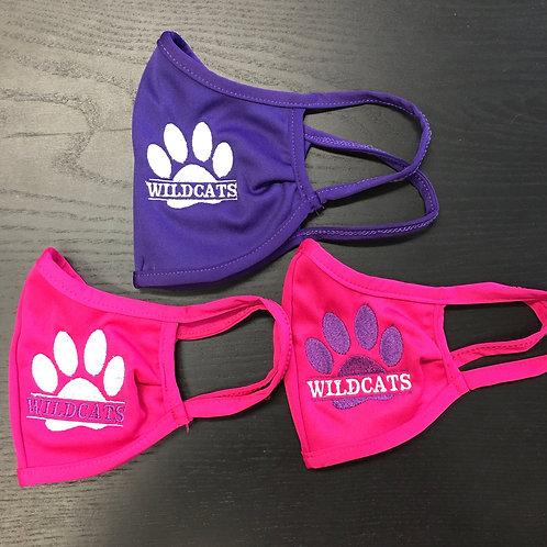 Wildcats Pawprint masks