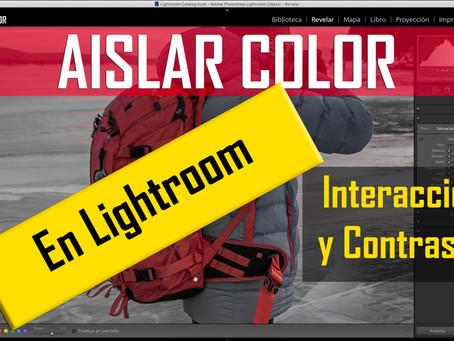 Aislar un COLOR en Adobe Lightroom.