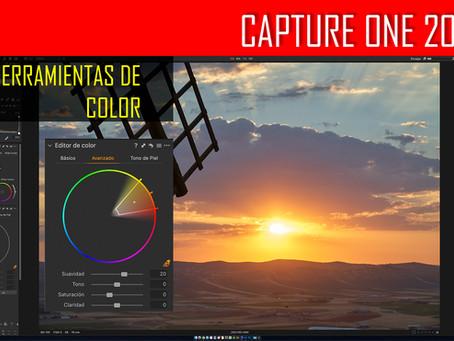 Capture One 20. Herramientas de COLOR