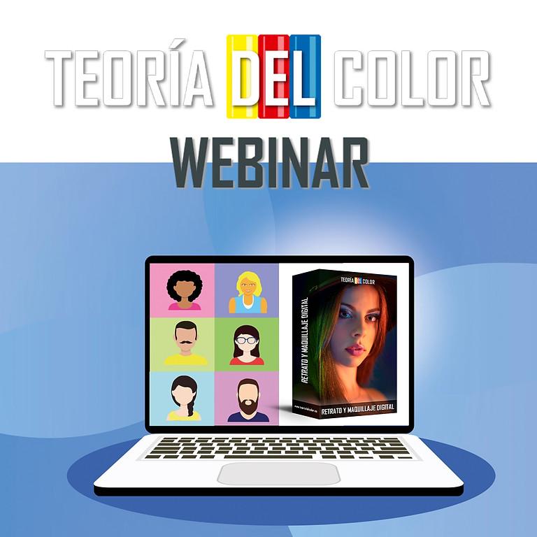 III - Webinar Teoría del color. Retrato y Maquillaje Digital.