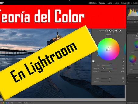 Teoría del Color en Lightroom. Gradación de color.