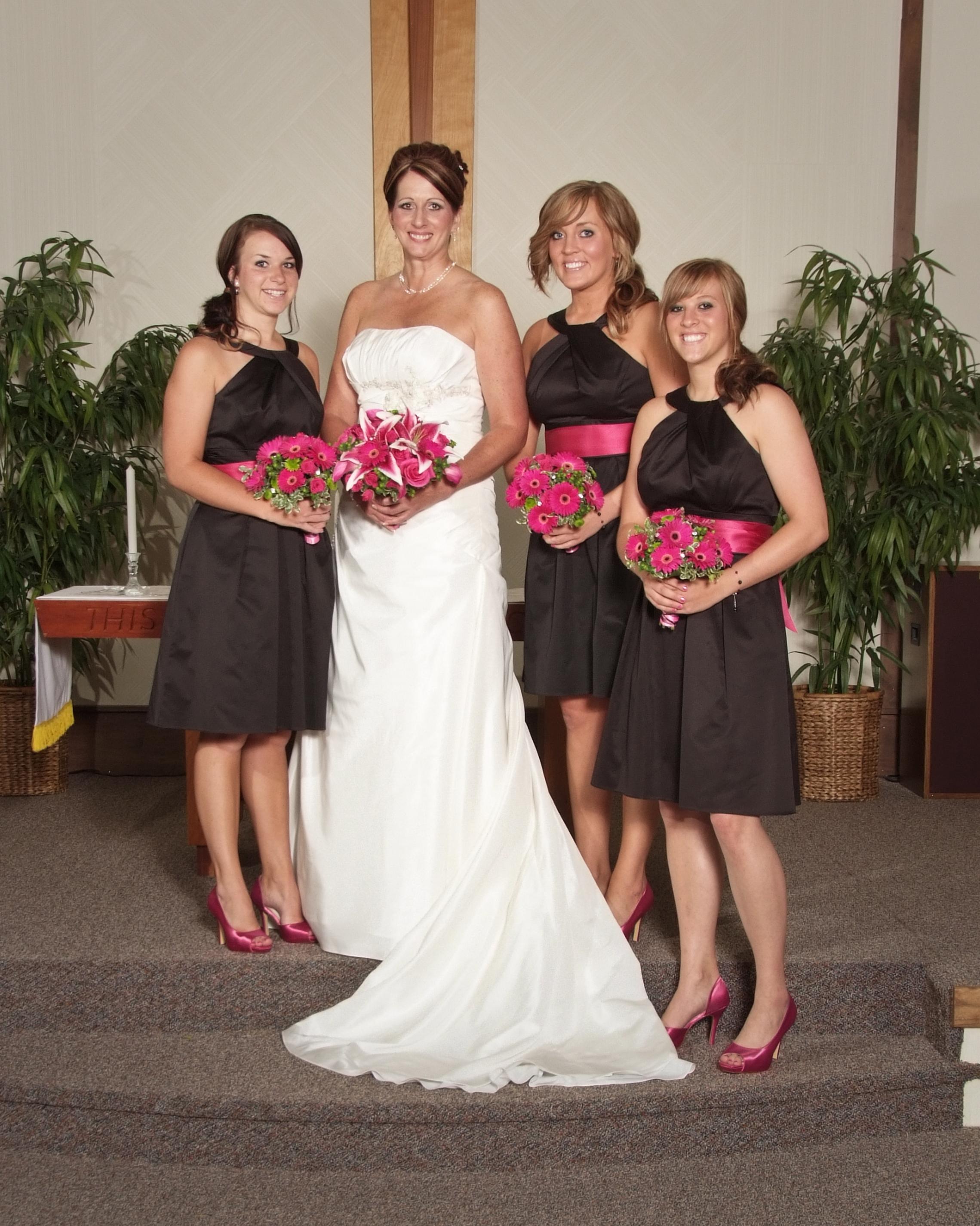 Kelsie, Laura, Sierra and Bailey