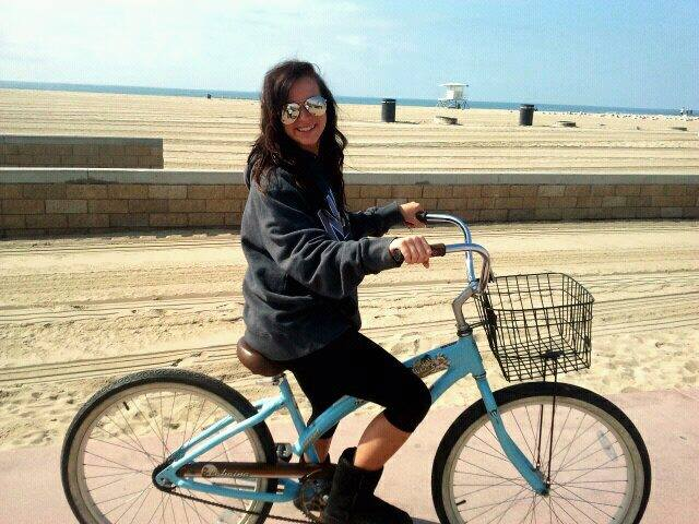 Bike-Riding Kelsie