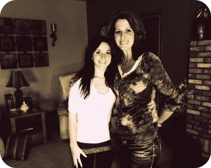 Kelsie and Laura