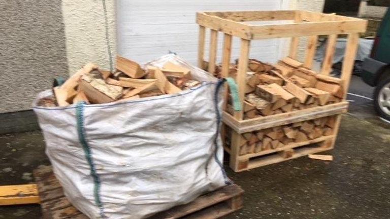 450kg Kiln Dried Birch