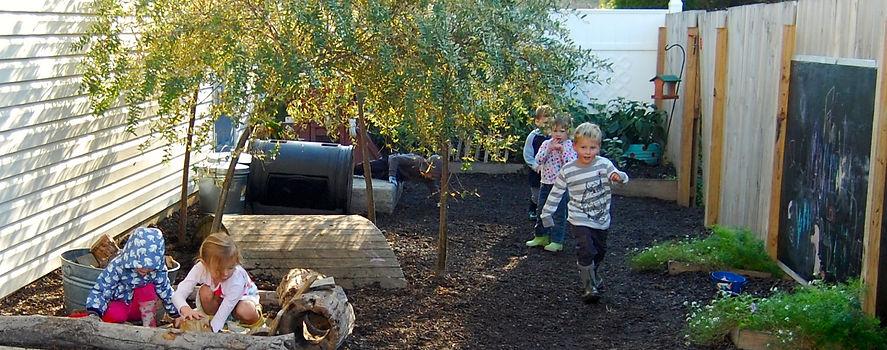 Avon Montessori Academy's beautiful Outdoor Classroom