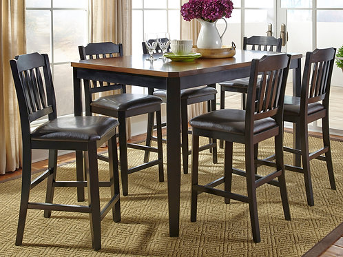 Gathering Pub Table & 6 Chairs
