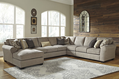 Pantomine Driftwood Large 5 PC Sectional