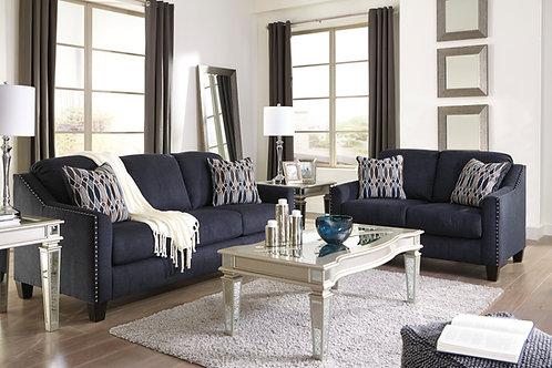 Creeal Heights Midnight Blue Sofa & Loveseat