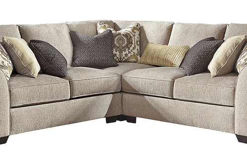 Pantomine Driftwood 3-PC Sectional