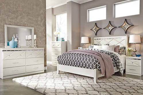 Dreamur Champagne Bedroom Set