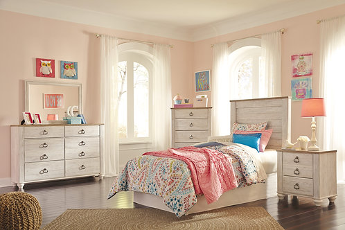 Willowtown Twin or Full Bedroom Set
