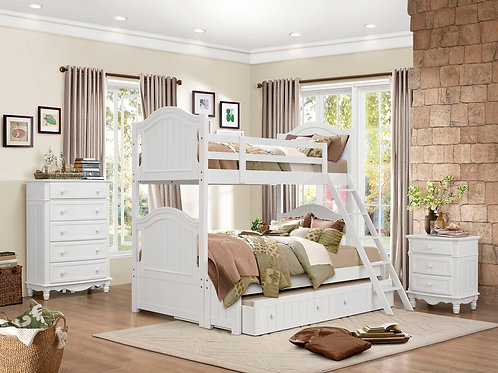 Clementine Collection Twin-over-Twin Bunk Bed