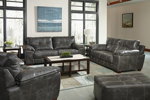 Hudson Steel Sofa & Loveseat