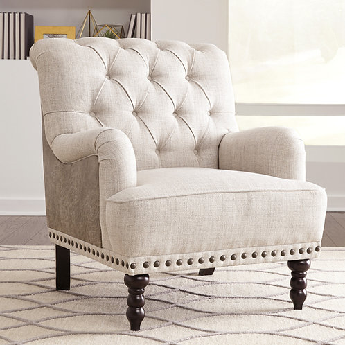 Tartonelle Ivory Accent Chair