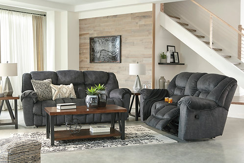 Capehorn Granite Reclining Sofa & Loveseat