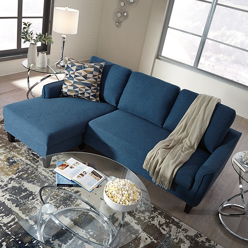 Jarreau Blue Queen Sleeper Sofa