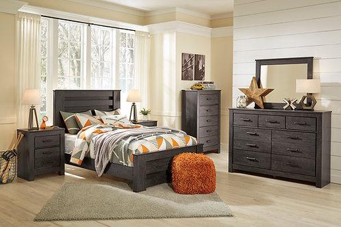 Brinxton Charcoal Full Bedroom Set