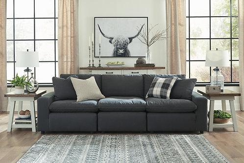 Savesto Charcoal Custom 3PC Sofa