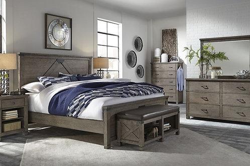 Tucker Stone Queen Bedroom Set