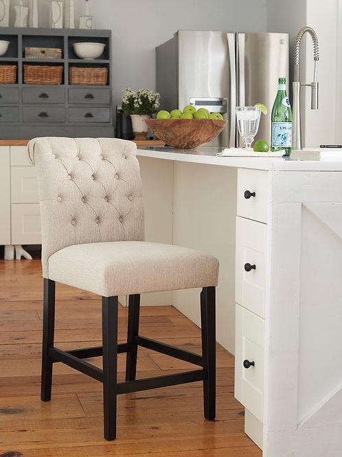 Tripton Linen Upholstered Barstools