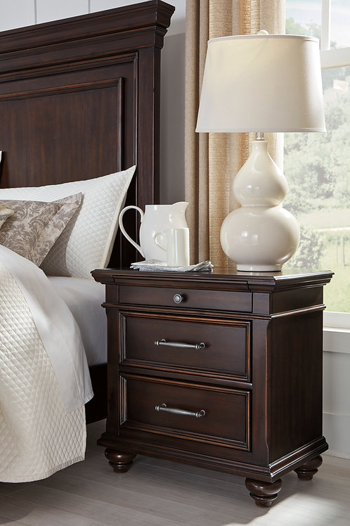 Brynhurst Walnut Nightstand